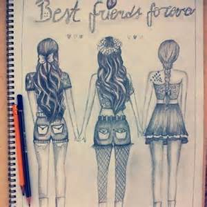 doodle with your friends types 12 best friends drawings best friends