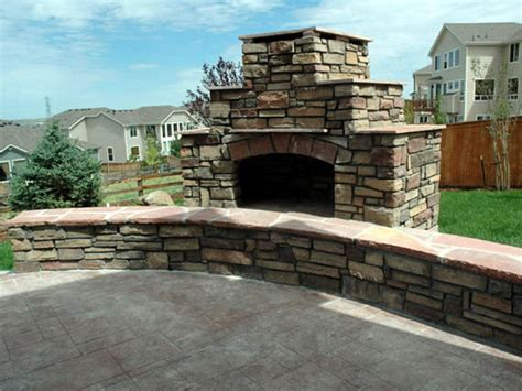 building outdoor fireplace how to build an outdoor stacked stone fireplace how tos