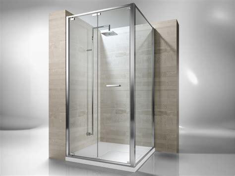 vismara doccia box doccia angolare su misura in vetro temperato junior