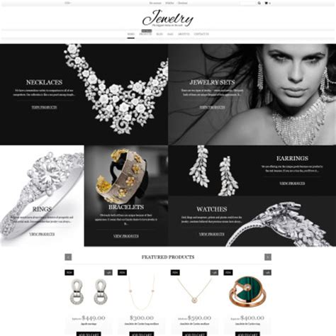 shopify themes jewelry shopify themes templatemonster