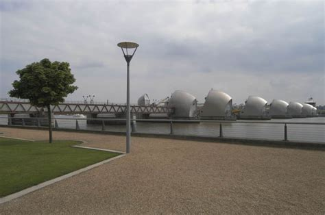 thames barrier effectiveness canning town silvertown walk london arts cafe