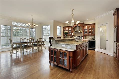 design dapur elegant design ruang makan dan dapur terbuka konsep moden