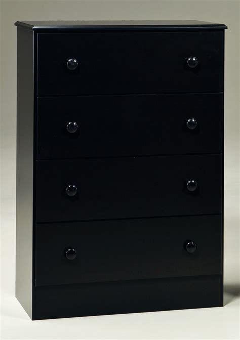 black bedroom chest kith black 4 drawer chest kids bedroom sets