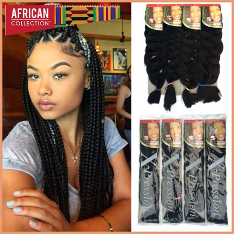 crochet braids hairstyles with expression hair for black women crochet braids xpression hair extension super long 82inch