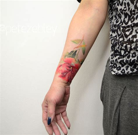 watercolor tattoo orange county tattoos best watercolor tattoos for
