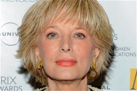 leslie stahl hair lesley stahl pictures photos images zimbio