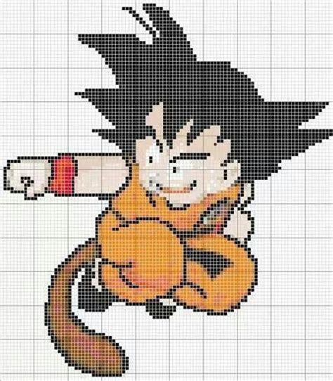 dibujos de goku para punto de cruz patr 243 n punto de cruz gratis goku super saiyan god 1000 images about dibujos on goku punto de cruz and perler bead patterns