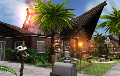 tiki house tiki house 01 by rivenchan on deviantart
