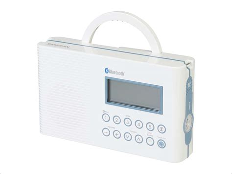 sangean am fm bluetooth shower radio h 202 neweggflash