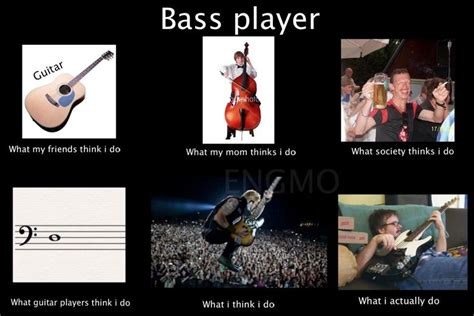 Bass Player Meme - bassist memes what bass players actually do memes