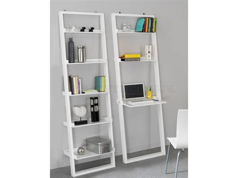 Fashionable White Leaning Bookcase Doherty House Leaning Bookcase White