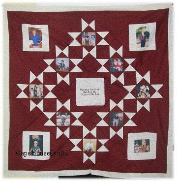 custom personalized photo memory picture quilt wall