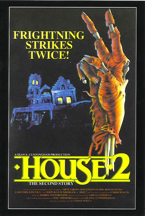 house 2 movie house 2 1980s b movie posters