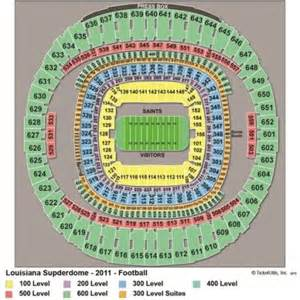 Mercedes Superdome Map Vipseats Mercedes Superdome Tickets
