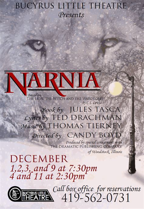 the magic of traveling follow the locals books blt bringing magic of narnia to the stage