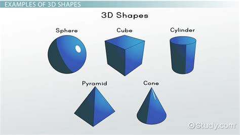Kindergarten Teacher Resume Examples by What Are 3d Shapes Definition Amp Examples Video