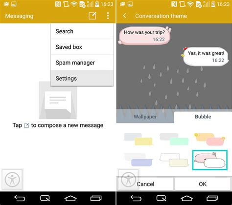 message themes for android lg g3 tips and tricks master your lg smartphone androidpit