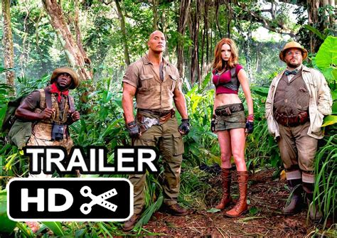 film 2017 jumanji jumanji 2 movie trailer 2017 kevin hart dwayne johnson