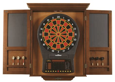 Brunswick Dart Board With Cabinet   The Great Escape