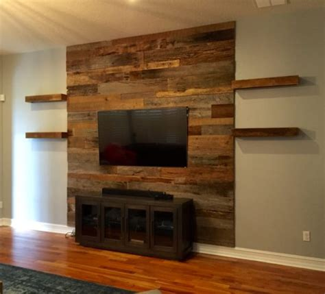 wood accent wall reclaimed wood accent wall wb designs