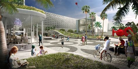 home design miami beach convention center big unveils design for miami beach convention center