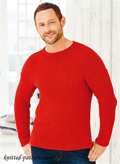 mens knitting patterns free s pullovers and sweaters knitting patterns