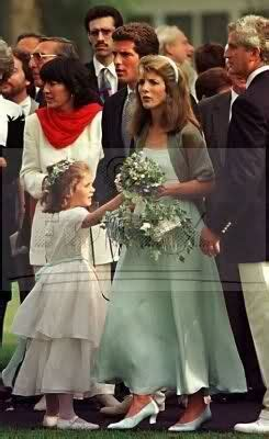 Caroline Kennedy & Rose Schlossberg, maid of honor and