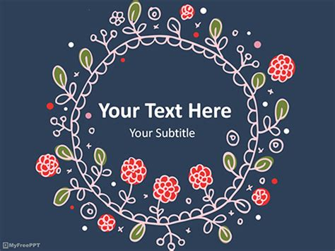 vintage templates for powerpoint free download free flowers powerpoint templates themes ppt