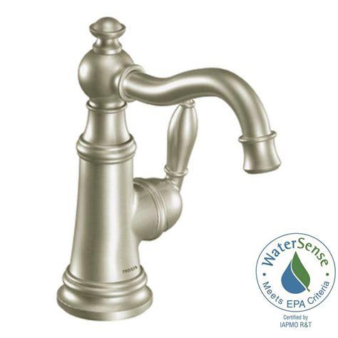 moen black bathroom faucets moen align single hole 1 handle low arc bathroom faucet in