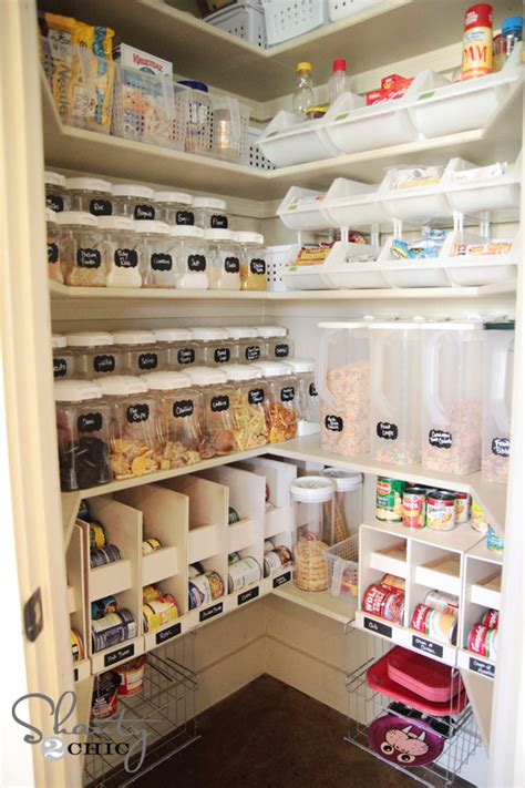How To Build A Food Pantry by Try This 8 Ideas Pantry Organization Tips Four