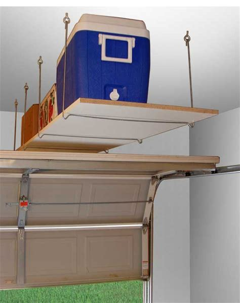 Garage Hanging Shelves by 25 Best Ideas About Overhead Garage Storage On