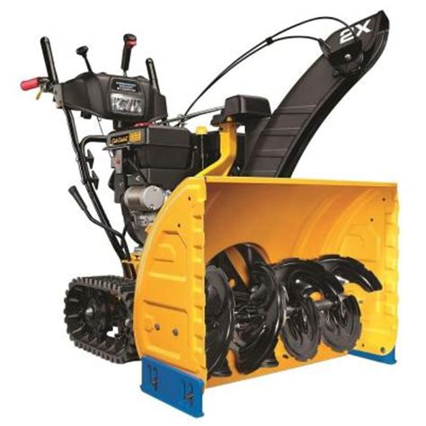 cub cadet 28 in two stage track drive electric start gas