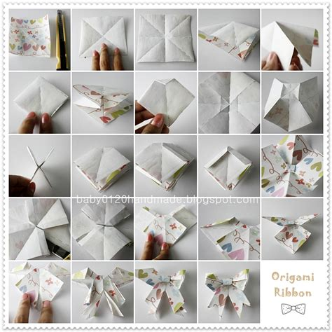 How To Fold Paper Ribbon - how to make bows out of wrapping papers