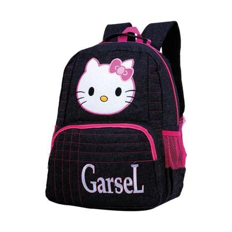 jual garsel hello tas sekolah anak perempuan blue