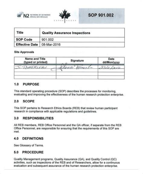 standard operating procedure template nhs 34 sop templates in pdf