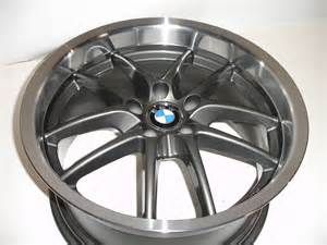 19 quot ace spyder staggered gunmetal wheels rims bmw 3 series