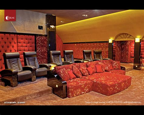 cineak fortuny luxury seats and custom in home
