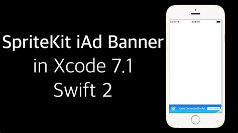 xcode tutorial deutsch swift xcode 7 1 swift 2 tutorial ios 9 spritekit iad banner