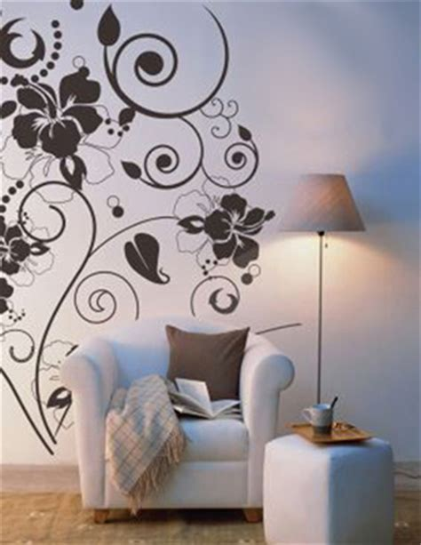flower design on wall contemporary wall art bedroom home pinterest wall