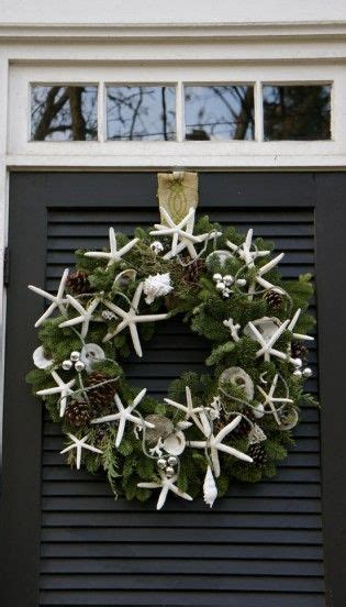 christmas garland on buffett pics 129 best images about shell wreaths on summer wreath starfish wreath and sea shells