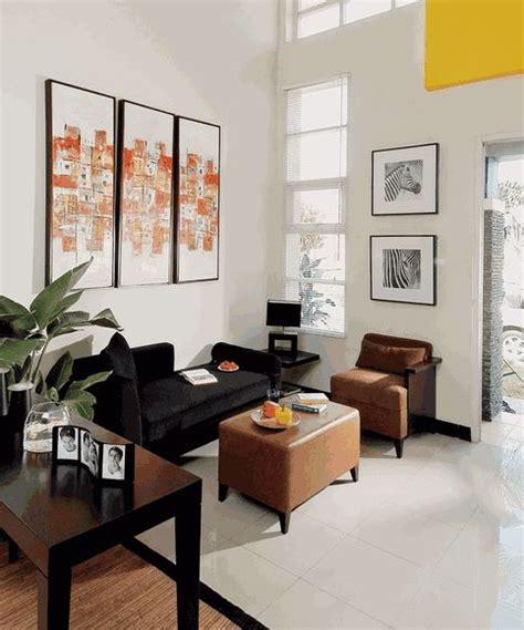 desain interior ruang tamu mungil  home decorations pinterest formal living rooms