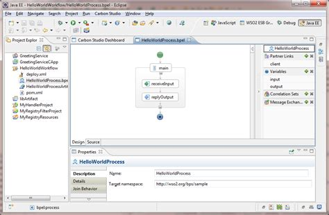 bpel workflow creating a bpel workflow developer studio 3 6 0 wso2