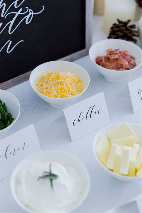 potato toppings potato bar mashed potato toppings bar fashionable hostess