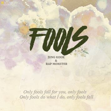 download mp3 bts fools fools cover by 랩몬스터 정국 of bts 가사 앨범아트 有