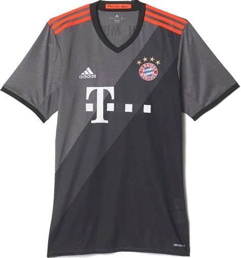 Jersey Bayern Munchen Home Go New Season 2017 18 Grade Ori bayern munich 2016 17 away kit leaked