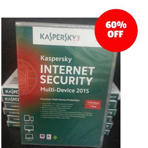 Anti Virus Kaspersky Security 5 Devices 1 Tahun Murah kaspersky security multi device 2015 2016 5 user 1 year pc mac retail dvd box