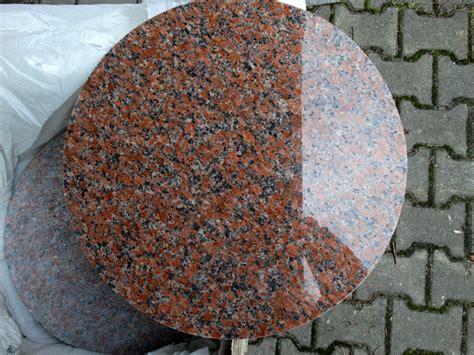 Tischplatte Aus Granit by Tischplatte Rund Granit Maple 216 60
