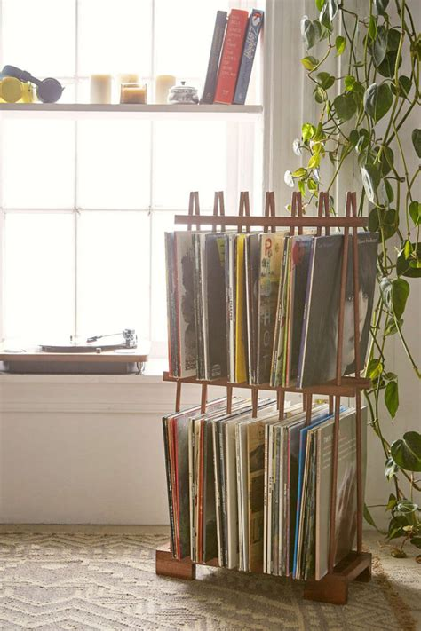 Vinyl Storage Rack by Vinyl Storage Rack Home Decorating Trends
