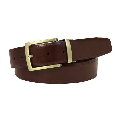 Humm3r Hadex Brown 39 44 becker reversible belt black brown 32 boconi touch of modern