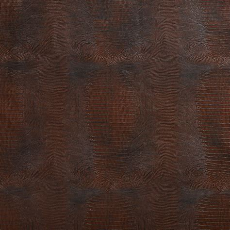 upholstery vinyl fabric brown textured alligator faux leather vinyl by the yard